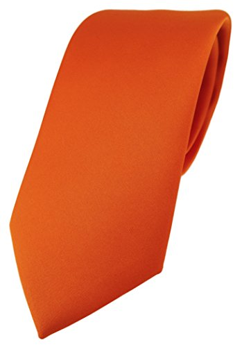 TigerTie Corbata de diseño monocolor en diferentes colores – Corbata de 7,5 cm de ancho