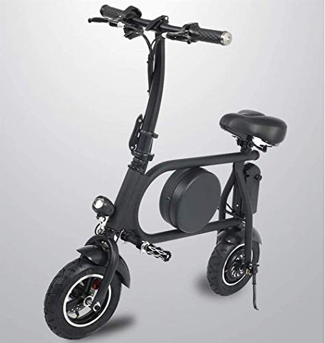 Bicicleta EléCtrica Plegable Adulto Asiento plegable E-Scooter con Motor 500W impermeable doble...