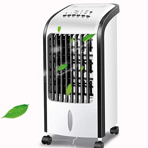 YANGLOU--Air conditioning fan- Air cooler Portable air conditioner 3 speeds and winds 5L large water tank intelligent remote control home mobile small airconditioned dormitory fan humidified aircoolin