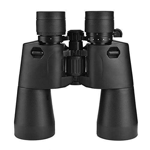 ZOUQILAI Zoom Télescope d'observation Nocturne 10-24X50 Haute définition pour l'observation des Oiseaux