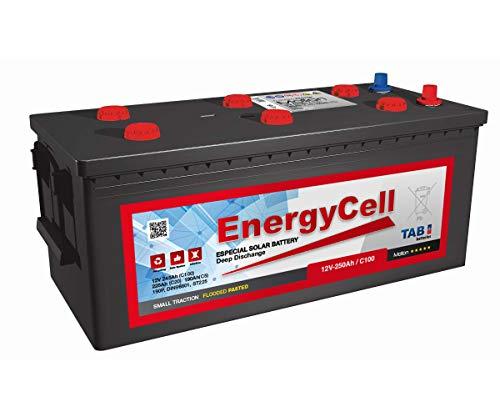 Batería Solar 12V 250Ah ESPECIAL Instalaciones Solares | Descarga Profunda | Larga Vida Útil