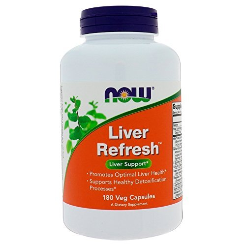 NOW Liver Refresh (Liver Support) - 180 VCaps x 2