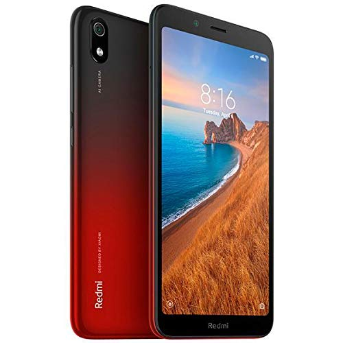 Celular Xiaomi Redmi 7A 32GB 2GB Ram Vermelho Versão Global Tela 5.45 Original