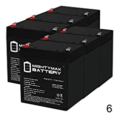 ML5-12 SLA is a 12V 5AH Sealed Lead Acid (SLA) rechargeable maintenance free battery. Pack of 6 Dimensions: 3.54 inches x 2.76 inches x 4.21 inches. Terminal: F1. Listing is for the Battery only. No wire harness or mounting accessories included. SLA ...