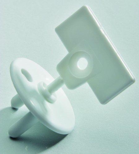 Safety 1st 39052760 - Euro Steckdosensicherung (12 Stück)