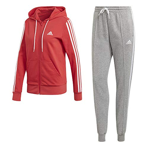 adidas W TS Co Energiz Chándal, Mujer, Glory Red/Medium Grey Heather,