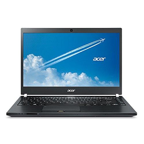 Acer TravelMate P6 (P645-SG-75BB) 35,6 cm (14 Zoll Full HD) Laptop (Intel Core i7-5500U, 8GB RAM, 256GB SSD+ 1000GB HDD, Nvidia GeForce 840M, Win 10 Pro/Win 7 Pro) schwarz