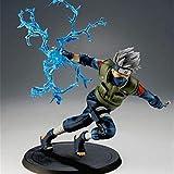 qiyifang Figura de Naruto Kakashi, figura de acción de Naruto Kakashi Sasuke, 20 cm, juguete de PVC...