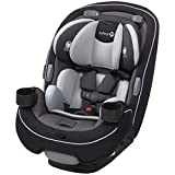 Safety 1 Grow and Go 3-in-1 Convertible Car Seat, Carbon Ink