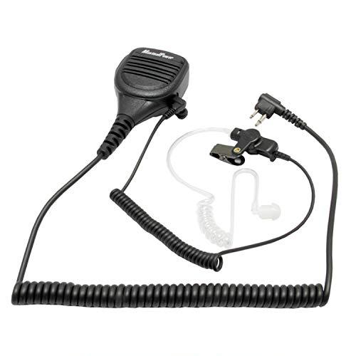 MaximalPower - Micrófono con Cable de vigilancia para Motorola HMN9030 GP300 CP200...