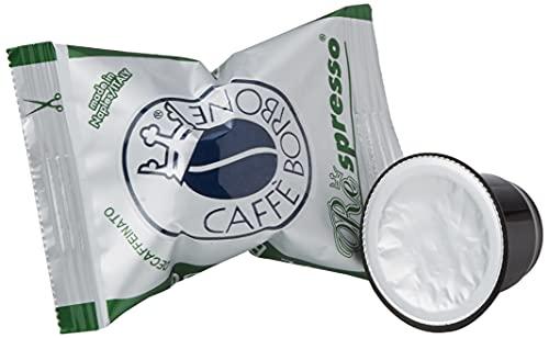 Caffè Borbone Respresso, Miscela Decaffeinata - 100 Capsule - Compatibili con le Macchine ad uso domestico Nespresso®*