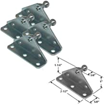 10MM Ball Stud Bracket for Gas Prop/Strut - 4 Pack