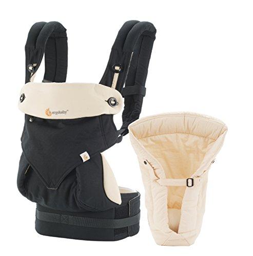 Ergobaby Four Position 360 Bundle of Joy Baby Carrier Black Camel