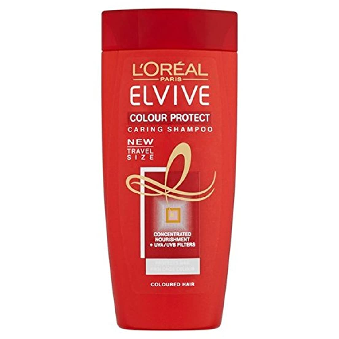ガソリンパス基礎ロレアル色は、旅行シャンプー50ミリリットルを保護します x4 - L'Oreal Elvive Colour Protect Travel Shampoo 50ml (Pack of 4) [並行輸入品]