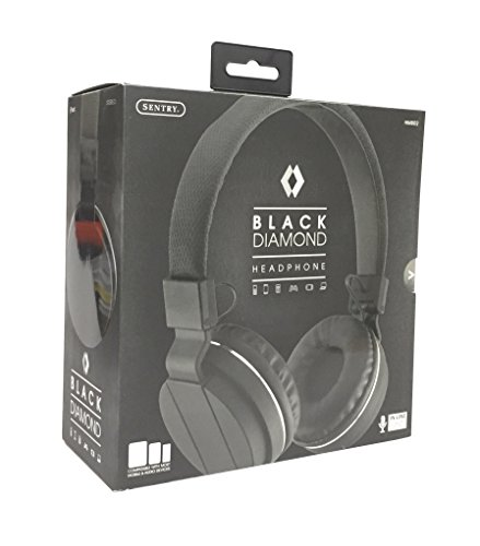 Sentry Black Diamond Headphones HM802