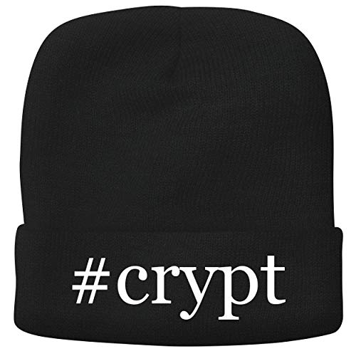 BH Cool Designs #Crypt - Adult Hashtag Comfortable Fleece Lined Beanie, Black