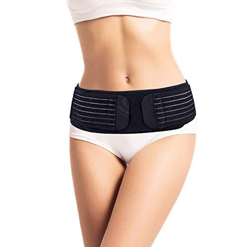 Thx4COPPER Compression Adjustable Sacroiliac Hip Waist Compression Belt, Lower Back Support Brace,Pain Relief for Sciatica, Pelvis, Lumbar, Nerve,Leg,SI Joint , Anti-Slip Pelvic for Men/Women…