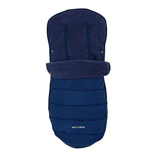 Maclaren Saco para silla de paseo universal, color azul marino con cremallera