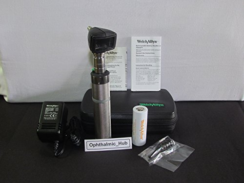 Welch Allyn 3.5v Diagnostic Otoscope Head & Specula with Ni-Cadimum Rechargeable Handle 25020