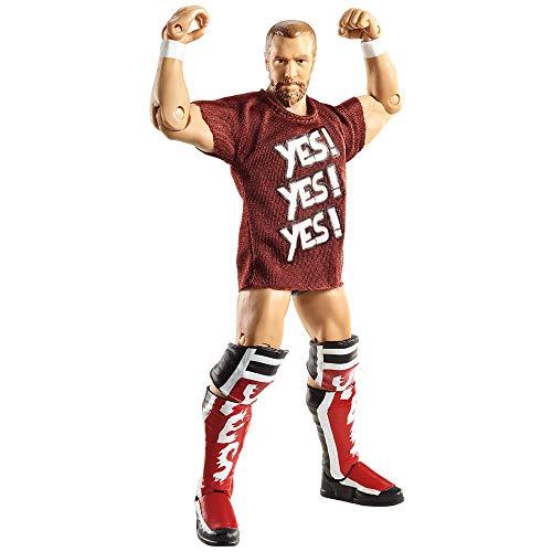 WWE - Catch - Figurines articulées - Série Elite 19 - Daniel Bryan