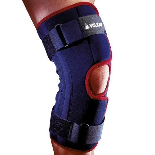 Vulkan Classic 3043 Wraparound Knee Support with Aerotherm Breathable Lining and Tension Straps - Small by Vulkan