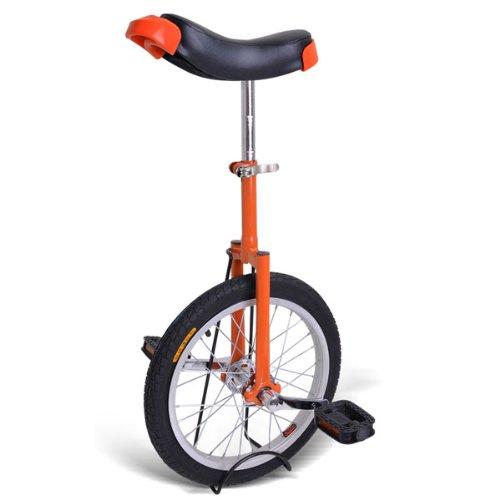 Best Buy! 16 Top Quality Professional Orange Unicycle Wheel