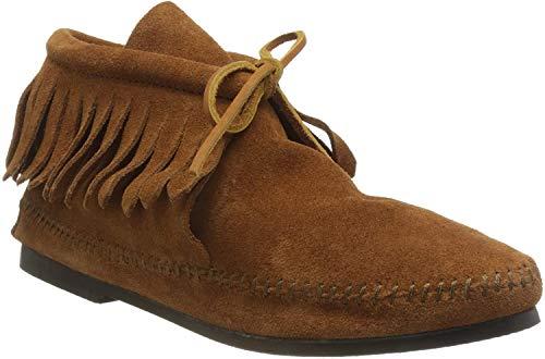 Minnetonka Damen Classic Fringe Boot Mokassin Stiefel, Braun (Brown 2), 41 EU