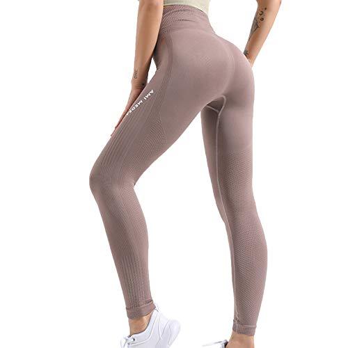 Leggings Pantalones Deportivos De Cintura Alta para Fitness para Mujer Leggings De Entrenamiento para Correr Pantalones De Yoga B,M