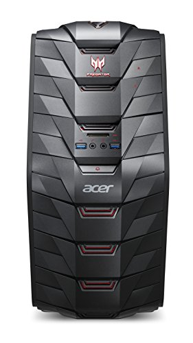 Acer Predator G3-710 - PCs/Workstations (64-bit, HDD+SSD, Intel Core i5-6xxx, DVD±RW, Schwarz, NVIDIA GeForce GTX 950)