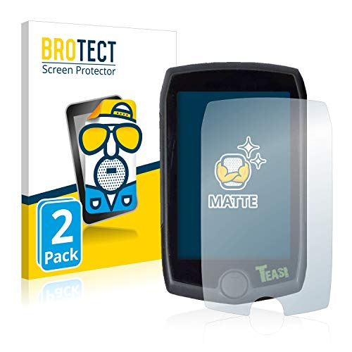 BROTECT 2X Entspiegelungs-Schutzfolie kompatibel mit A-Rival Teasi Pro Displayschutz-Folie Matt, Anti-Reflex, Anti-Fingerprint