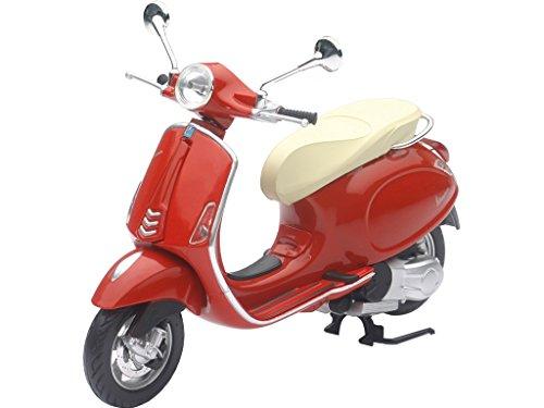 Madelcar Vespa Mini, Modelo Primavera, Escala 1:12, Color Rojo