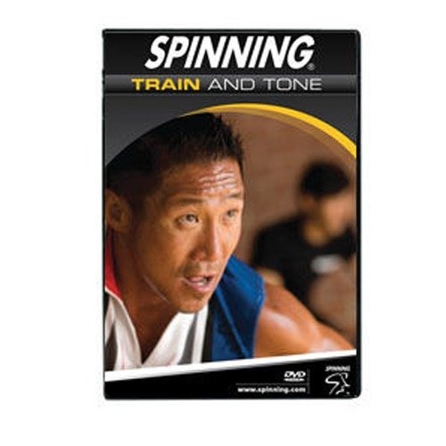 SPINNING Fitness DVD Train and Tone - Bicicletas estáticas Fitness (Interior), Color n/a, Talla NA