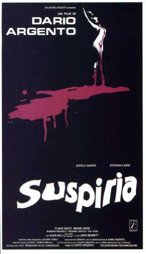 Suspiria Poster Movie Italian 11x17 Jessica Harper Joan Bennett Alida Valli Udo Kier