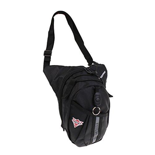 Hüfttasche Gürteltasche Sidebag Bauchtaschen Schwarz, Stark Wasserdicht