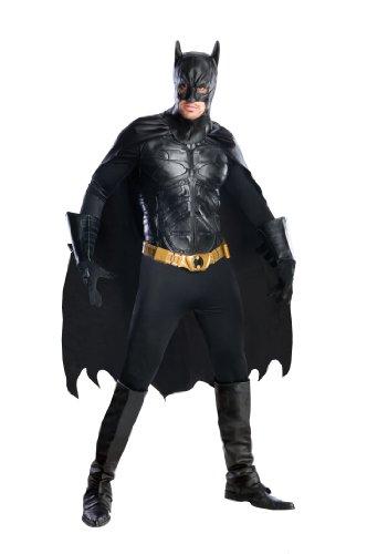 Rubie's 56309 - Costume ufficiale Grand Heritage Batman, adulto, taglia L