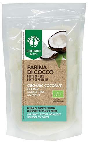 Probios Farina di Cocco Bio 250 g - Senza Glutine
