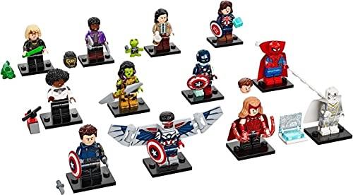 LEGO Marvel Series 1 - Juego completo de 12 minifiguras 71031 (equipado)