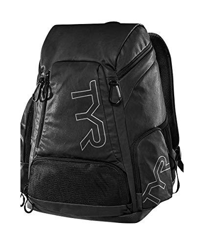 TYR Unisex Alliance Rucksack aus veganem Leder, 30 l, Unisex-Erwachsene, Alnc30L Rucksack Lth, Alnc30l Backpack Lth, schwarz, One_Size