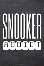 Snooker Addict: Snooker Notebook, Planner or Journal | Size 6 x 9 | 110 Dot Grid Pages | Office Equipment, Supplies |Funny Snooker Gift Idea for Christmas or Birthday