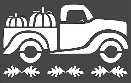 1- 7x11 inch Custom Cut Stencil TG-4 Arts Sale SALE% OFF and Pumpkin Limited price Truck C