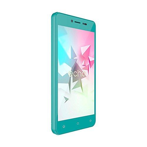 Echo Flow Smartphone débloqué 4G (Ecran : 5 pouces - 8 Go - Double Micro-SIM - Android) Vert