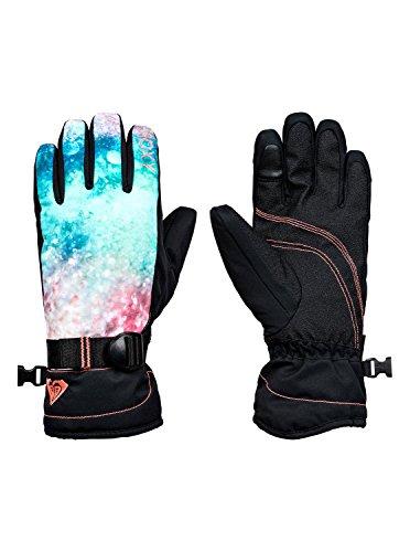 Roxy Jetty - Gants de Snowboard/Ski - Fille 8-16 Ans - S - Orange