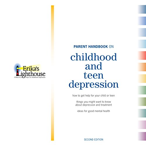 Page de couverture de Parent Handbook on Childhood and Teen Depression, Second Edition