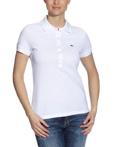 Lacoste PF269E-00 Polo, Blanco, 44 para Mujer