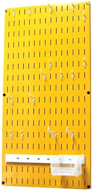 Wall Control Jewelry Organizer Wall Hanging Holder Kit, Yellow