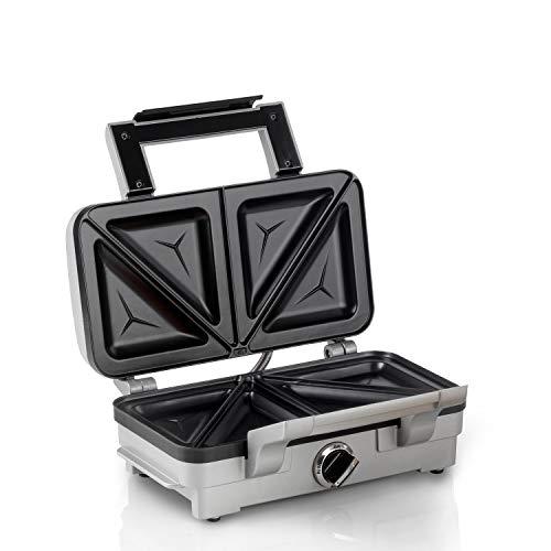 Cuisinart GRSM1U Sandwich Maker, 1000 W - Silver