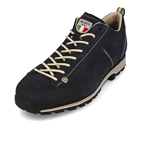 Dolomite Unisex-Erwachsene Zapato Cinquantaquattro Low Sneaker, Azul/Blanco Cord, 44.5 EU