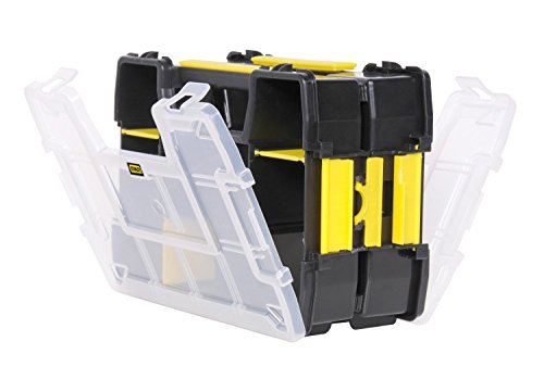 Stanley Sortmaster Lite Organizer 11.5' Lx2.5' Wx8.5' H Black Yellow Clear (2 Pack)