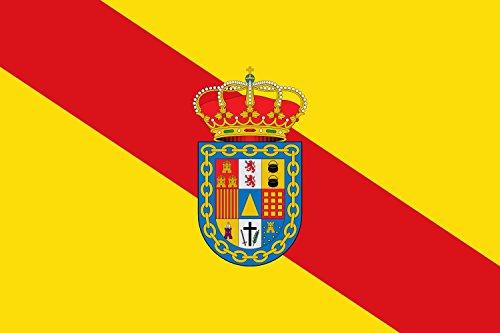 magFlags Bandera Large Buenache de Alarcón, Cuenca, España | Bandera Paisaje | 1.35m² | 90x150cm