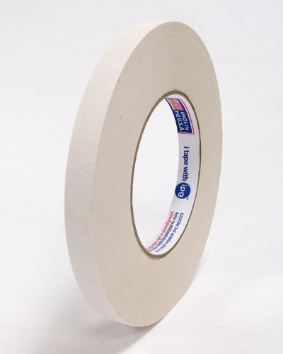 Intertape 591 1/2 X 36YD Premium Double-Coated Flatback Tape, Beige Color- 72 Rolls/case